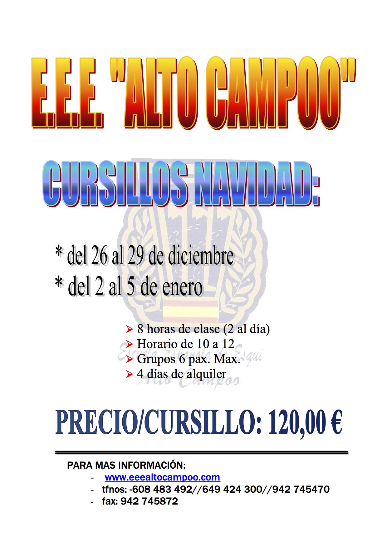 CURSILLO NAVIDAD